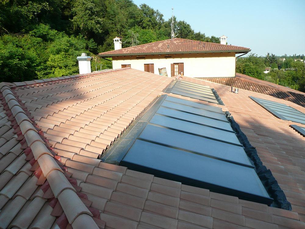 Pannelli solari a Caneva
