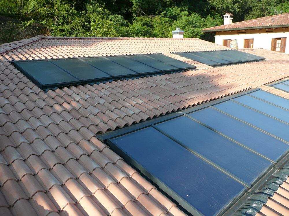 Pannelli solari a Roveredo in Piano