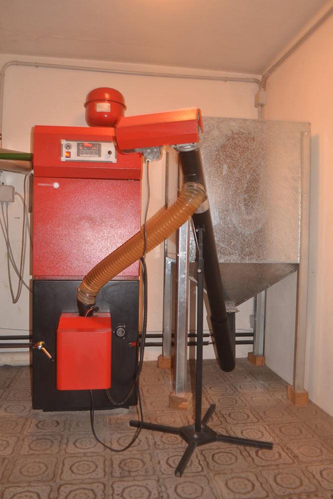 Caldaie a legna e pellet a Cinto Caomaggiore
