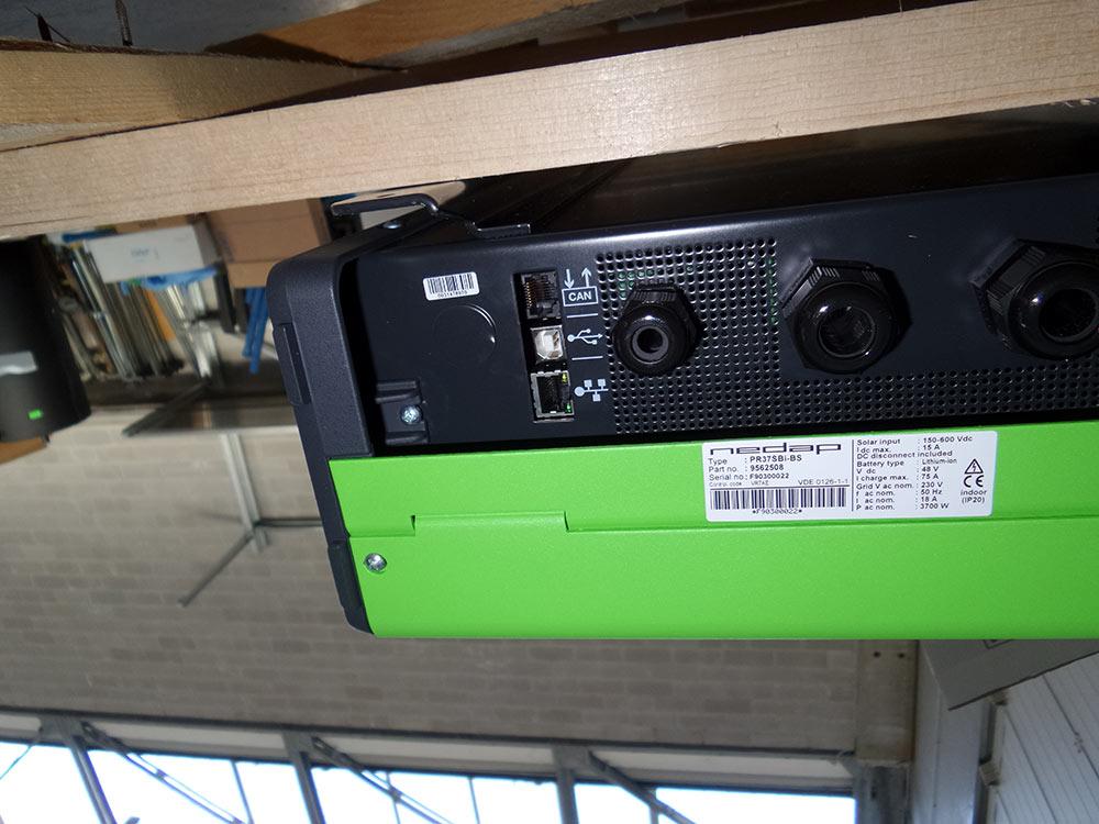 Sistemi di accumulo e batterie a Chions