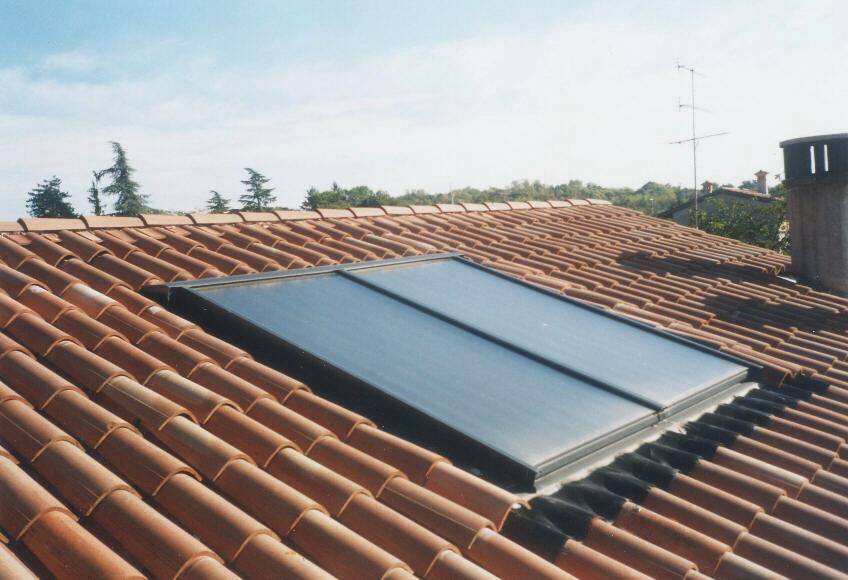 Pannelli solari a Chions